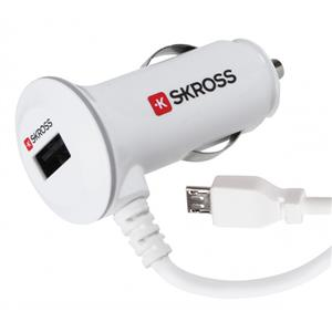 Skross Midget Plus Micro 2100mA USB Car Charger